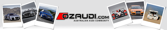 ozAudi - AUSTRALIAS LEADING AUDI FORUM - Powered by vBulletin
